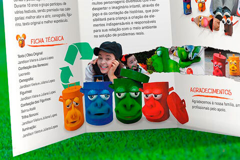Projeto Mockup - Vamos reciclar