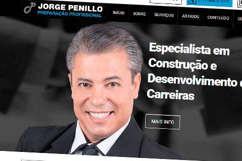 Site para palestrante Jorge Penillo